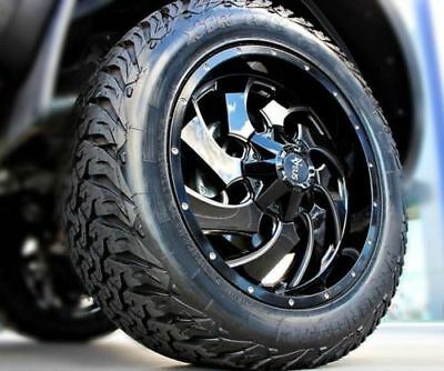 (Mazda BT-50) NVEUS Vader 20x9 Wheel +Tyre Package