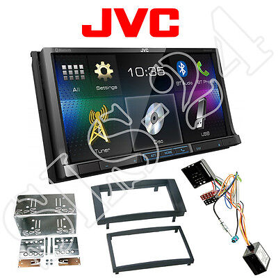 JVC Doppel-DIN DVD Radio Blende VW Touareg T5 Caravelle + Can-BUS Interface SET