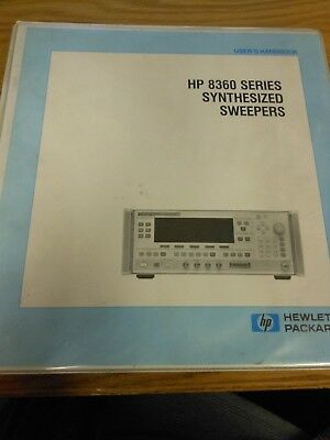 HP/Agilent 8360 Series Synthesized Sweepers Users Handbook Volume 1 Loc: 124