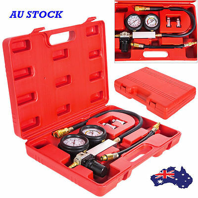 Cylinder Leak Tester Petrol Engine Compression Leakage Leakdown Detector Kit AU