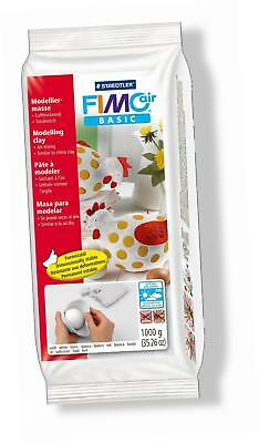 Staedtler Fimo Air Basic Air Drying Modelling Clay 1 kg - White