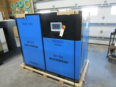 Air-Max  50 hp.  AMD-50 (NEW ) Industrial  Rotary Screw Compressor