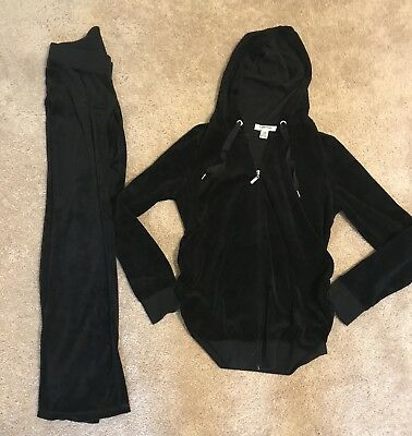 motherhood maternity small Winter Outfit jacket And Jogger Pants Set S/M