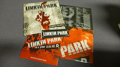 """Linkin Park - Hybrid Theory / LP + 10"""" 45 RPM, Poster, Sticker, limited 3000 RSD"""