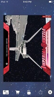 Topps Star Wars Digital Card Trader Red Shuttle Evolution: Vehicles Insert