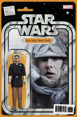 Star Wars #34 Han Solo Hoth Outfit Christopher Action Figure Variant Comic Book