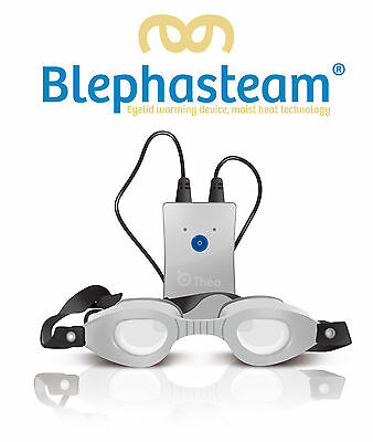 Blephasteam for Blepharitis Chalazion MGD Dry Eye Meibomian Gland Dysfunction