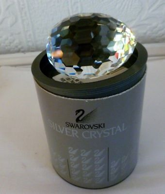 Swarovski Crsytal Egg paperweight MIB with COA 7458 063 000 New old Stock