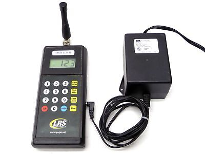 Lrs Long Range Systems T9550 Lcm-G Server Waiter Restaurant Paging Transmitter