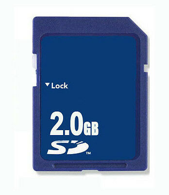 Standard 2GB Secure Digital SD Memory Card Wholesale 2GB SD Card for camera NEW