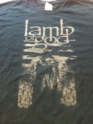 Lamb Of God XL T shirt Heavy Metal Hardcore Nu Metal NWOBHM Randy Blythe