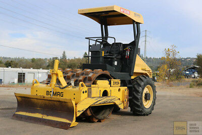 "2012 Bomag Bw145Pdh-40 54"" Padfoot Compactor 1100Hrs Blade Tier 3 Cummins"