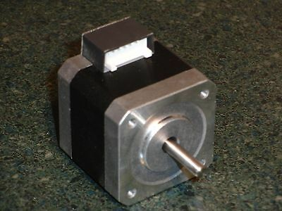 Oriental Motor PKP244MU12B stepper motor, double-shaft, frame size 1.65 in.