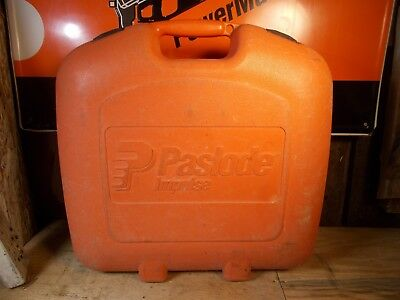 USED CASE  PASLODE Part #  404710 - Carrying Case for 900420 Framer
