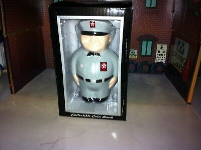 Vintage TEXACO SPANKY FAT MAN COLLECTIBLE BANK - Hand Painted