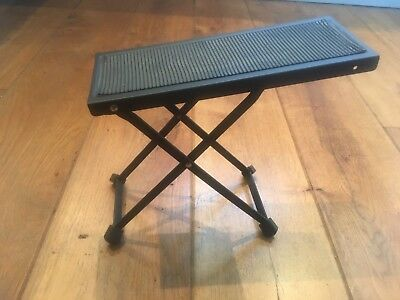 Guitar Folding Adjustable Foot Stand / Foot Stool
