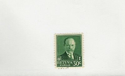 Lithuania SCOTT #284 MH stamp