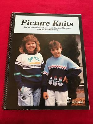 Bk2 Brother Knitting Machine Pattern Book Picture Knits By Phyllis Waterhouse