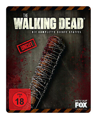 The Walking Dead - Staffel 7 (Exklusive Steelbook-Edition) - (Blu-ray)