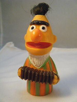 Vintage Muppets Bert with Accordian Finger Puppet