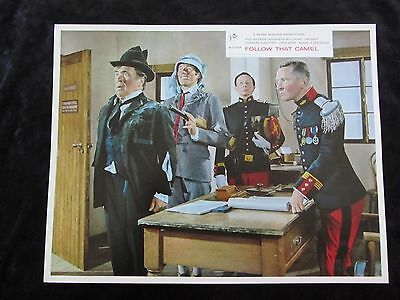 CARRY ON FOLLOW THAT CAMEL  lobby card #8 KENNETH WILLIAMS, PHIL SILVERS