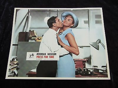 PRESS FOR TIME lobby card #1 NORMAN WISDOM
