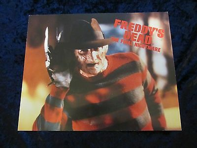 A Nightmare On Elm Street lobby cards Freddy's Dead The Final Nightmare