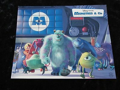 Monsters Inc lobby cards - Walt Disney, Pixar Animation, French set of 10 stills