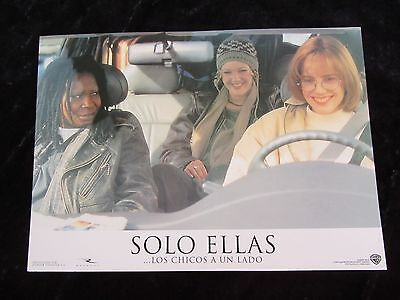 BOYS ON THE SIDE lobby cards DREW BARRYMORE, WHOOPI GOLDBERG, MARY LOUISE PARKER