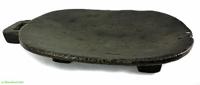 Zulu Carved Meat Tray Platter Ugqoko Small South African Art