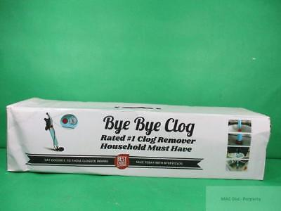 Bye Bye Clog - Pressurized Super Plunger for Drains Clog Toilets Kitchen