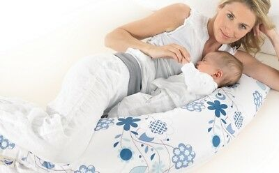 Theraline Original Maternity Pregnancy & Nursing Pillow Cushion removable cover