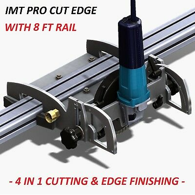 IMT PRO CUT EDGE Makita Motor Rail Saw, Grinder/ Polisher For Granite- 8 Ft Rail