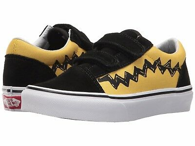 d1003e5089c Vans Kids Old Skool V x Peanuts CHARLIE BROWN LITTLE KIDS Shoes SIZE 13.5
