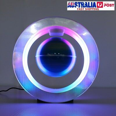 4'' Magnetic 360° Rotating Globe Colorful LED Levitating Interactives Home Decor