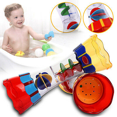 Toddler Kids Baby Plastic Bath Swim Toy Water Whirly Wand Cup Toys New Gift