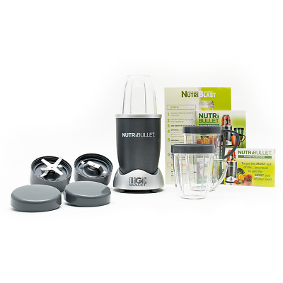 Magic Bullet NutriBullet NBR-1201M 600W Motor 12 Piece Set Blender Extractor
