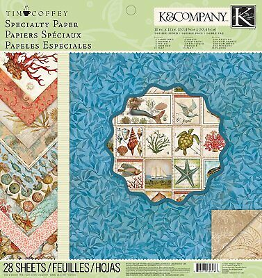 Tim Coffey Travel 12 x 12-inch K and Company Specialty Paper Pad