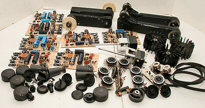Box Lot Of 56 Bell & Howell 2580 16mm Sound Movie Projector Parts
