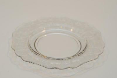 Cambridge ROSE POINT #3400 -- 9.25 Inch Dinner Plate Plates