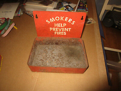 Rare Vintage C. 1950's 1960's Smokers Help Prevent Forest Fires Cigarette Box