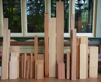 Large selection of cabinet grade timbers including Kauri, Tasy Myrtle, Mahogany