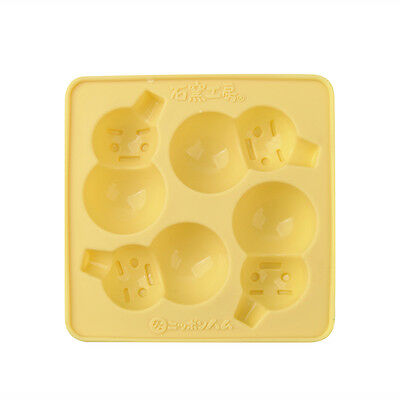 Snowman Christmas Silicone Soap mold Candy Chocolate Fondant Tray mould ICE Cube