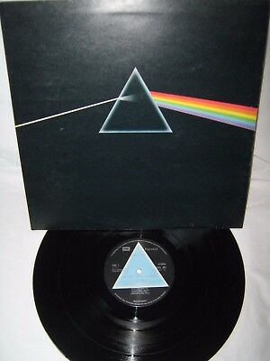 Pink Floyd-Dark Side Of The Moon LP 1973 Super Original 1st Issue Solid Triangle