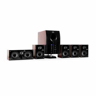 Home Cinema Enceinte 5.1 active caisson Haut-Parleur Satellite Hifi Audio design
