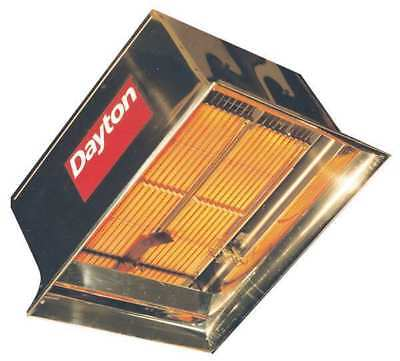 DAYTON 3E133 Commercial Infrared Heater, NG, 60, 000