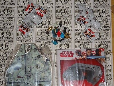 AU CHOIX Star Wars FIGURINES MICROPOPZ  Leclerc  ALBUM  LUNETTE 2017 MICROPOPZ