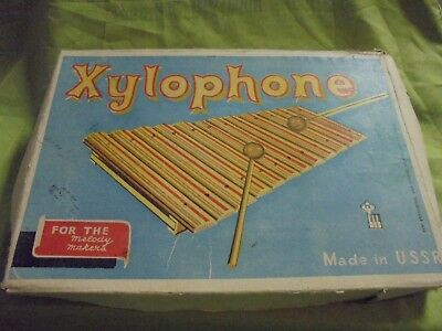 Xylophone for the melody makers - Made in USSR - Preschool, HOLZ, ohne Klöppel