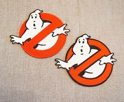 Ghostbusters Patch Movie No Ghost Fully Embroidered Costume / Cosplay / Emblem