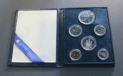 1981 Canada Specimen Mint Set - with COA * No Reserve * - (P100)
